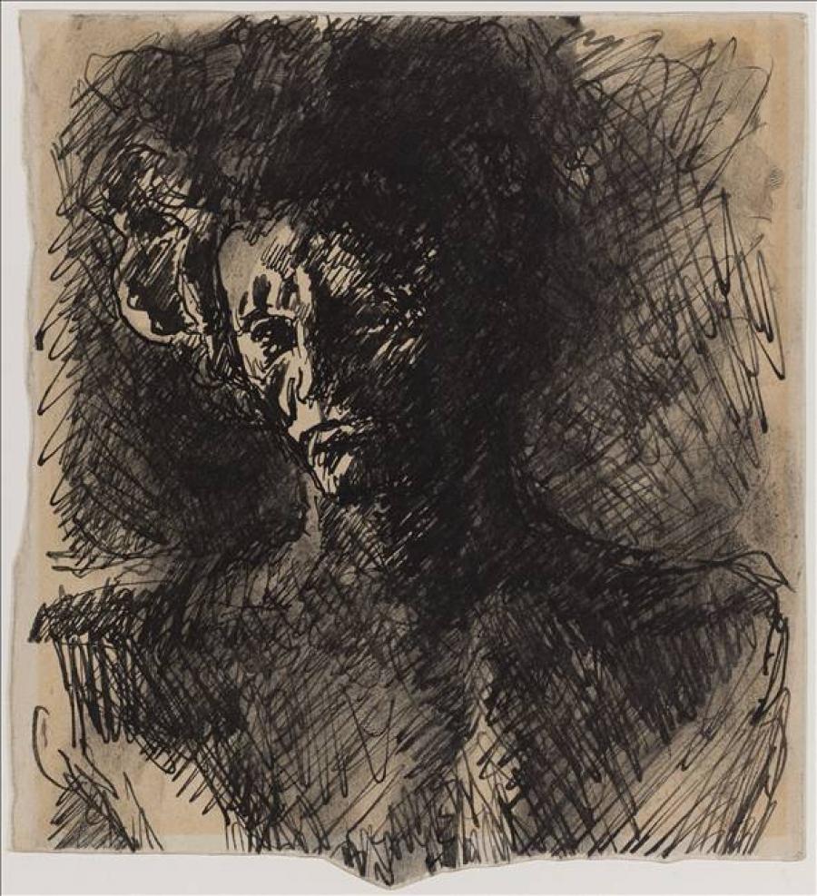 Etude de têtes de Beethoven | Musée Bourdelle
