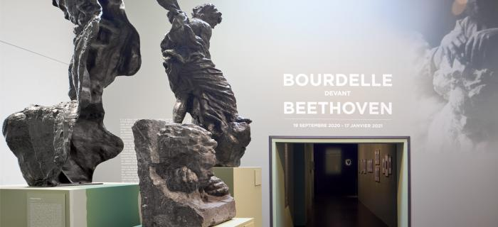 BOURDELLE DEVANT BEETHOVEN MUSEE BOURDELLE PARIS PHOTO RAPHAEL CHIPAULT