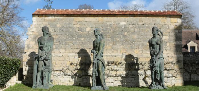 Bourdelle - Figures du monument Alvear - Donjon de Vez © Musée Bourdelle