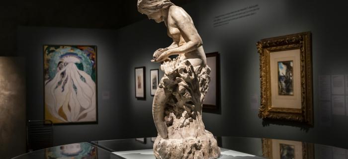 """""""Les Contes étranges de N.H Jacobsen"""", musée Bourdelle, Paris 2020 photo Claire Delfino"""