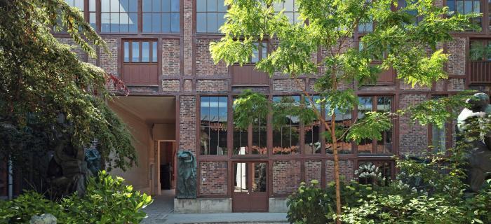 Facade nord du musée Bourdelle